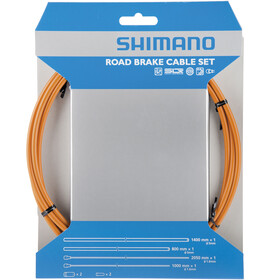 Shimano Road Bremsekabel PFTE coated orange